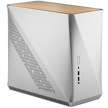 Fractal Design ミニPCケース Era ITX Silver - White Oak FD-CA-ERA-ITX-SI