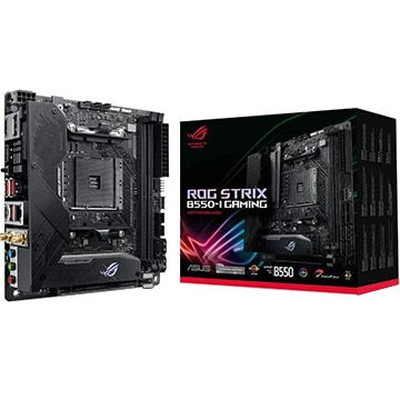 ASUS マザーボード AMD B550搭載 ITX ROGSTRIX B550-I GAMING ROG/STRIX/B550-I/G