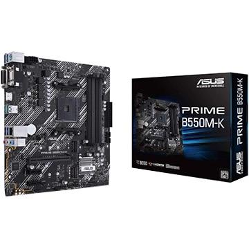 ASUS マザーボード AMD B550搭載 MicroATX PRIME B550M-K PRIME/B550M-K
