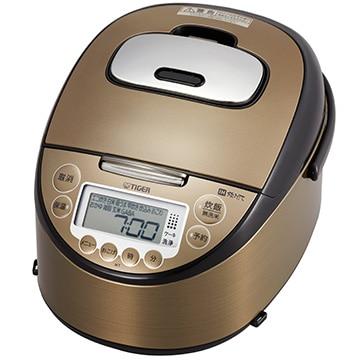 タイガー魔法瓶 IH炊飯器 炊きたて 5.5合炊き ダークブラウン JKT-P100-TK