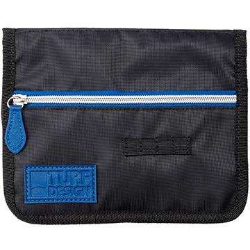 朝日ゴルフ ■TURF DESIGN カートポケット BK/BL TDCP-1971