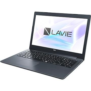 NEC (オフィス付) LAVIE Smart NS 15.6 AMDA6 4GB 1TB ブラック PC-SN26VQDDF-D