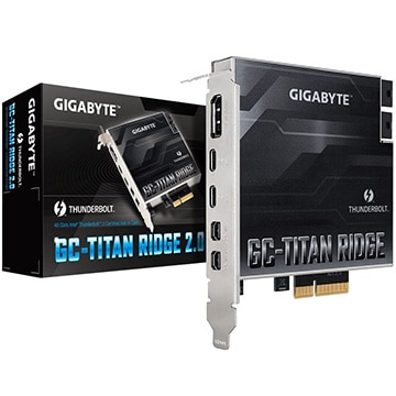 GC-TITAN RIDGE Thunderbolt3拡張カード 2.0