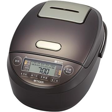 タイガー魔法瓶 圧力IH炊飯器 炊きたて 5.5合炊き ブラウン JPK-G100-T