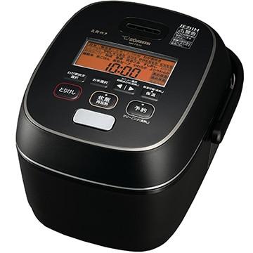 象印マホービン 圧力IH炊飯器 炎舞炊き 5.5合炊き 黒漆 NW-PS10-BZ