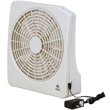 ロゴス・コーポレーション ■2電源・どこでも扇風機(AC・電池) 81336702