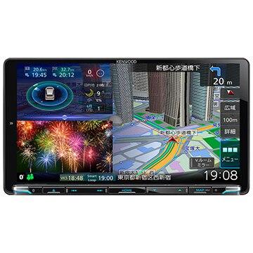 ケンウッド 彩速ナビ 9V型メモリーカーナビ/地デジ/DVD/USB/SD/Bluetooth/ハイレゾ対応 MDV-M907HDL