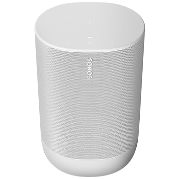 Sonos Move バッテリー搭載 プレミアムスマートスピーカー Lunar White 国内正規品 MOVE1JP1