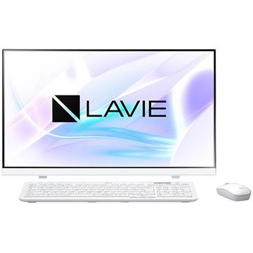 【17時】NEC TVチューナー/i7-10510U/SSD+HDD1TB/OfficeHB搭載23.8型液晶一体型パソコン LAVIE Smart HA PC-SD187CCAH-D 実質74,518円送料無料!