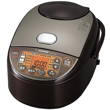 象印マホービン IH炊飯器 5.5合炊き ブラウン(NW-VB10同等品) NW-VH10-TA