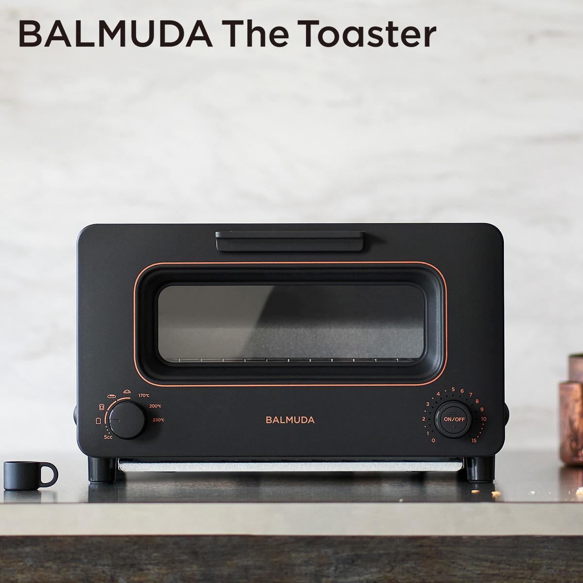 バルミューダ 「BALMUDA The Toaster」 ザ・トースター (ブラック) K05A-BK