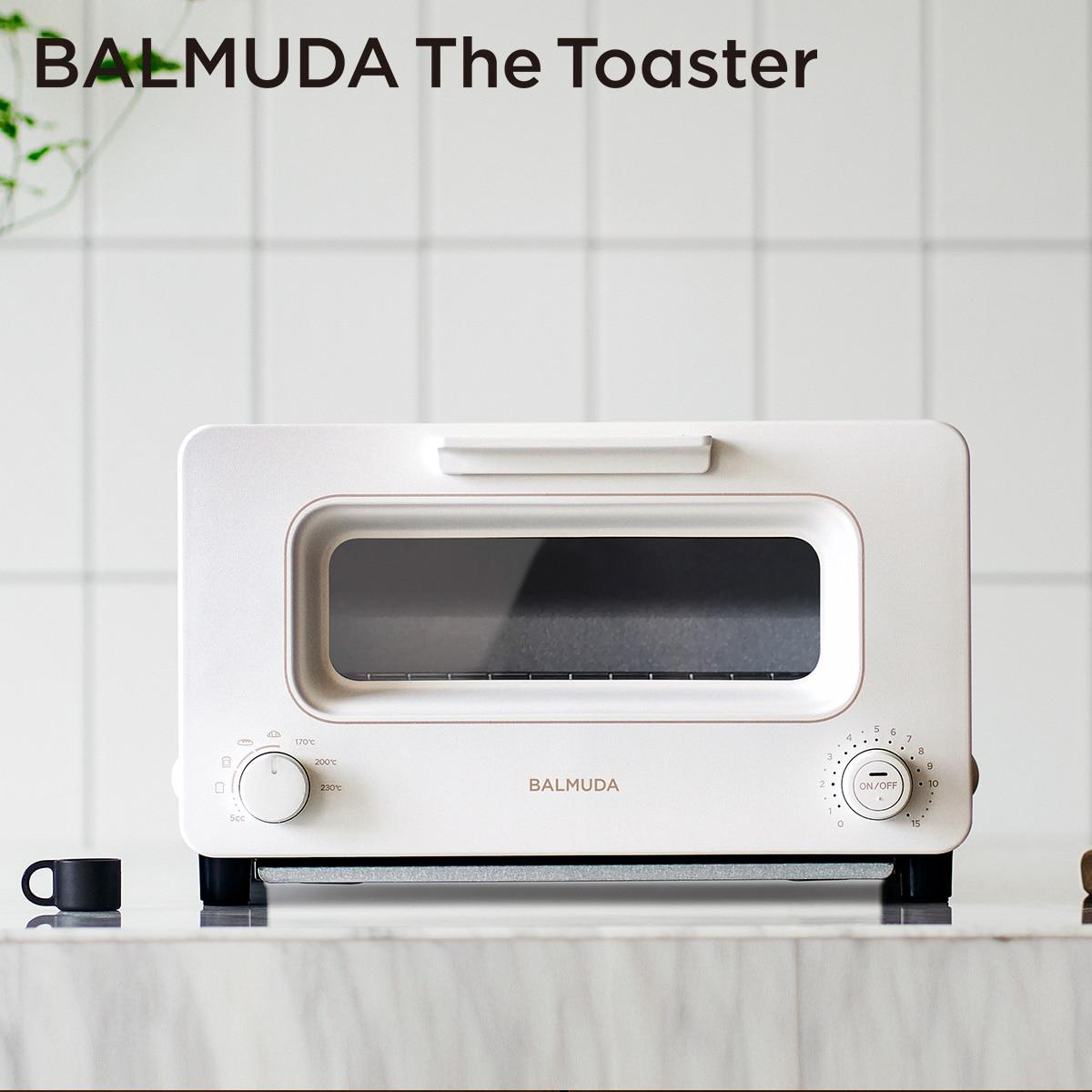 バルミューダ 「BALMUDA The Toaster」 ザ・トースター (ホワイト) K05A-WH