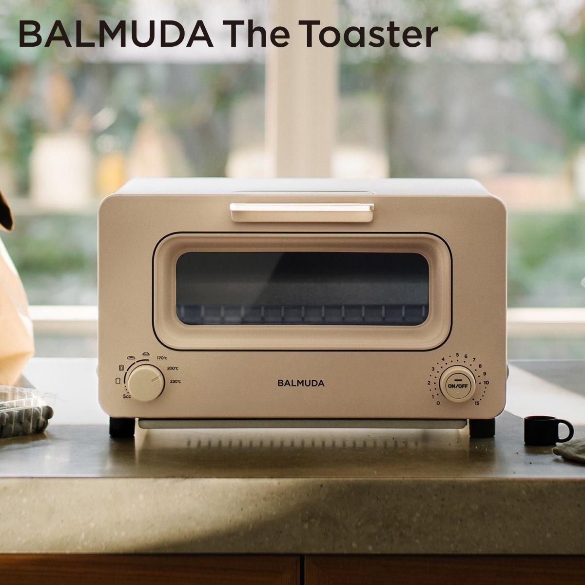 バルミューダ 「BALMUDA The Toaster」 ザ・トースター (ベージュ) K05A-BG