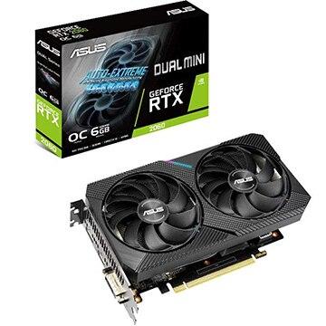 ASUS ■グラフィックカード NVIDIA RTX2060搭載 6GB MINIモデル DUAL-RTX2060-O6G-MIN