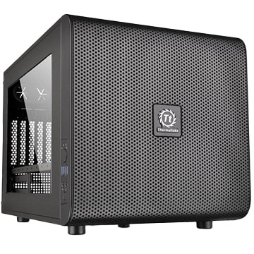 PCケース Core V21/Black/Win/SECC