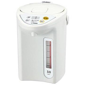 タイガー魔法瓶 マイコン電動ポット 3.0L ホワイト PDR-G301W