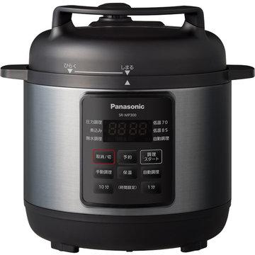 Panasonic 電気圧力なべ (ブラック) SR-MP300-K