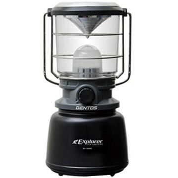 ジェントス LEDランタン 調色・調光機能付き EX-1300D