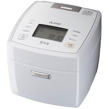 三菱電機 IH炊飯器 炭炊釜 一升炊き 月白 NJ-VVB18-W