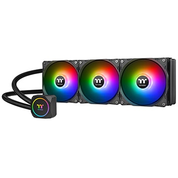 Thermaltake CPUクーラー TH360 ARGB Sync CL-W300-PL12SW-A