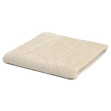 西川 ■洗える シルクブランケット アイボリー シール織 毛羽部分シルク100% シングル 光沢感 肌に優しい 保温性 FQ09024501I