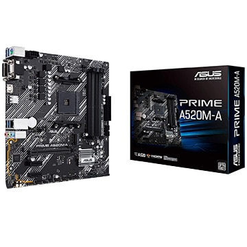 ASUS ■マザーボード AMD A520搭載 MicroATX A520M-A PRIME/A520M-A