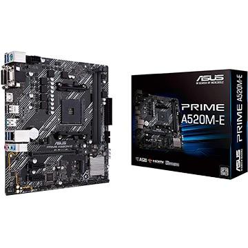 ASUS ■マザーボード AMD A520搭載 MicroATX A520M-E PRIME/A520M-E