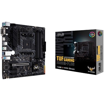ASUS ■マザーボード AMD A520搭載 MicroATX A520M-PLUS TUF/GAMING/A520M-PLUS