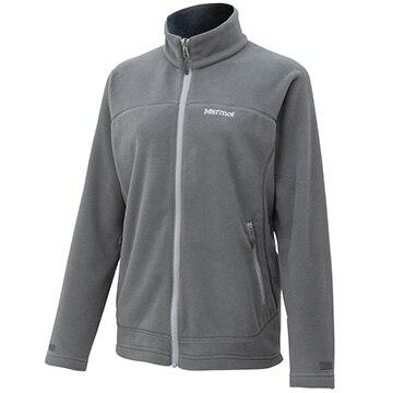 マーモット [レディース][フリース]W's POLARTECR Micro Jacket / ウィメンズポーラテックマイクロジャケット グレー Mサイズ TOWOJL35/CIN/M
