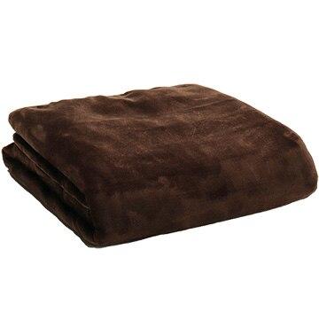 広電 電気掛敷毛布 フランネル 188×130cm CCBR806B
