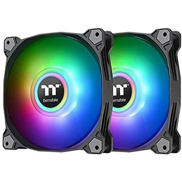 Thermaltake PCファン Pure Duo 14 ARGB -2Pack- CL-F116-PL14SW-A