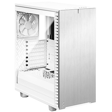 Fractal Design PCケース Define 7 Compact White TG Clear Tint FD-C-DEF7C-04