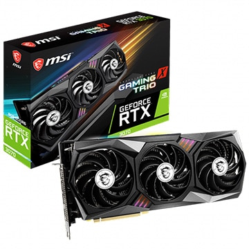 グラフィックボード GeForce RTX 3070 GAMING X TRIO