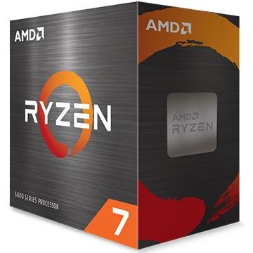 AMD Ryzen 7 5800X W/O Cooler (8C/16T 3.8GHz 105W) 100-100000063WOF