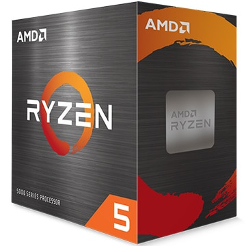 Ryzen 5 5600X With Wraith Stealth Cooler (6C/12T 3.7GHz 65W)