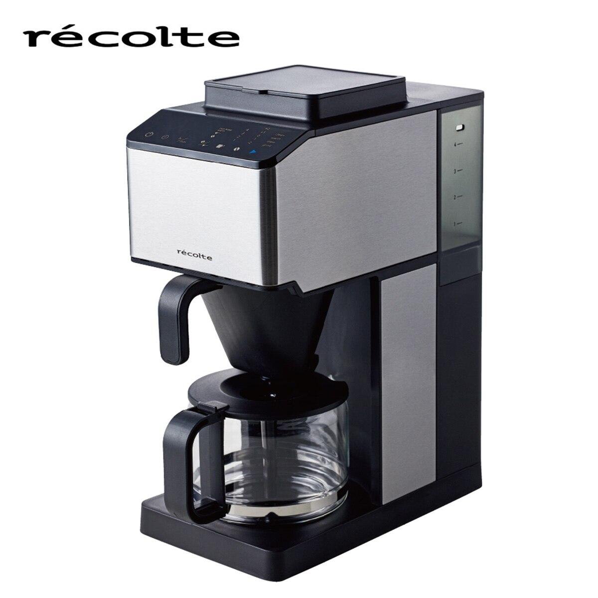 recolte(レコルト) コーン式全自動コーヒーメーカー シルバー RCD-1-S