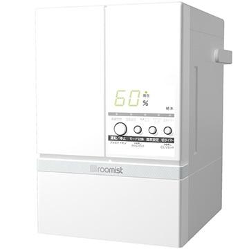 三菱重工 roomist スチームファン蒸発式加湿器 ピュアホワイト SHE60SD-W