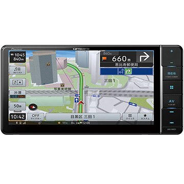 Pioneer 楽ナビ 7V型HD液晶 ワイド メモリーナビ/地上デジ/Bluetooth/地図更新最大1年分付 AVIC-RW511
