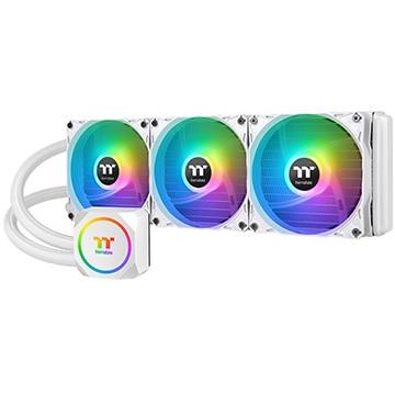 Thermaltake CPUクーラー TH360 ARGB Sync Snow Edition CL-W302-PL12SW-A