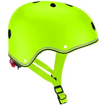 DADWAY ■LEDライト付きヘルメット/48-53/ライムグリーン WKGB505106