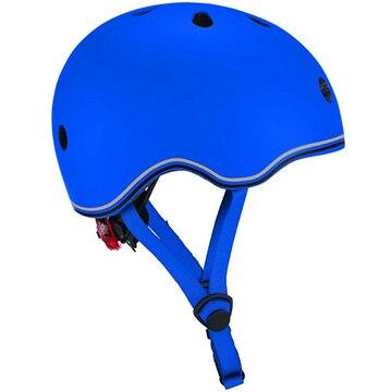 DADWAY ■LEDライト付きヘルメット/45-51/ネイビーブルー WKGB506100
