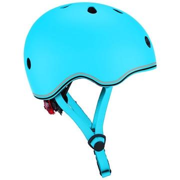 DADWAY ■LEDライト付きヘルメット/45-51/スカイブルー WKGB506101