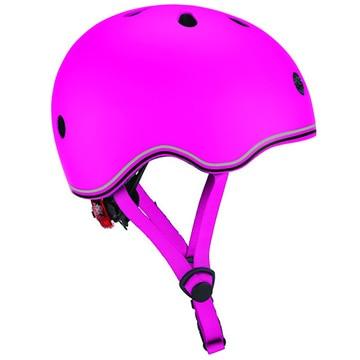 DADWAY ■LEDライト付きヘルメット/45-51/ディープピンク WKGB506110