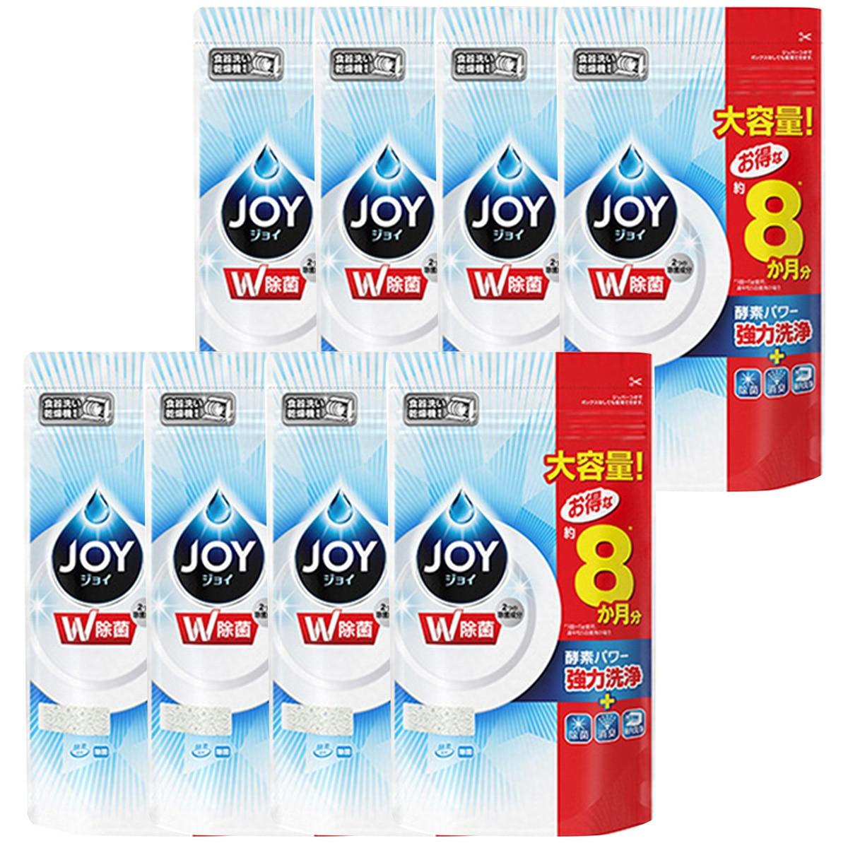 P&G ジョイ 食洗機用洗剤 除菌 つめかえ 特大 930g×8袋