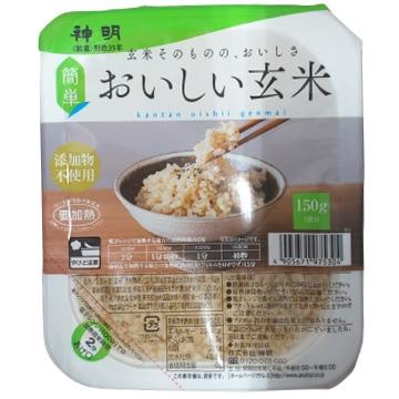 ■◇おいしい玄米ごはん 150g×24袋入