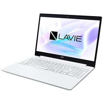 LAVIE Note Standard (15.6型FHD/Corei7/8GB/SSD256GB/OfficeH&B2019) カームホワイト