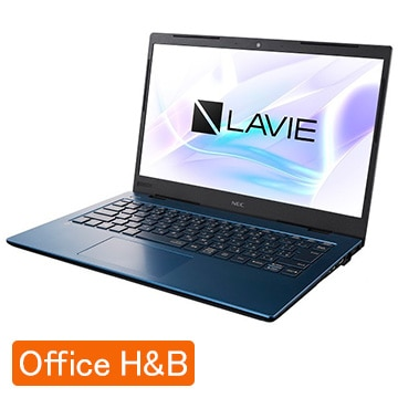 NEC LAVIE Smart HM(14.0型FHD/Corei7/8GB/SSD256GB/Win10Home/OfficeH&B2019) ネイビーブルー PC-SN186TADG-D