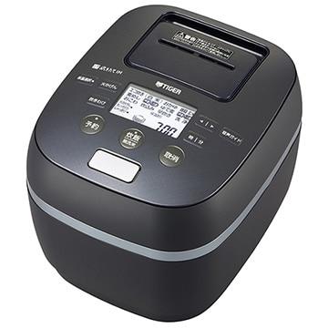 タイガー魔法瓶 土鍋圧力IH炊飯器 炊きたて ご泡火炊き 3.5合炊き ストーンブラック JPJ-G060-KS