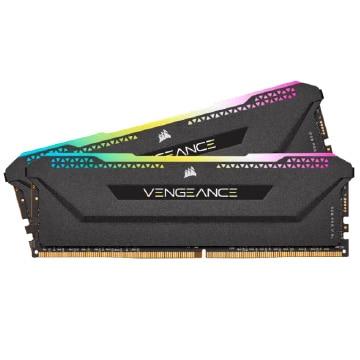 【送料無料】Corsair 内蔵メモリ VENGEANCE RGB PRO SL 32GB (2x16GB) DDR4 3600 (PC4-28800) C18 Optimized for AMD Ryzen - Black CMH32GX4M2Z3600C18