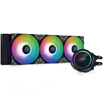 Deepcool CPUクーラー GAMMAXXL360 A-RGB DP-H12CF-GL360-ARGB